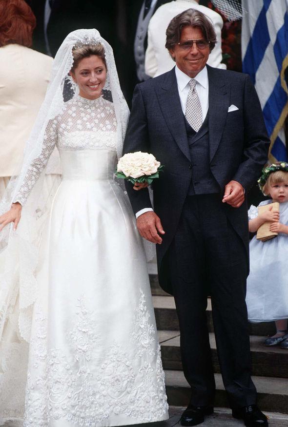 Meghan Markle Wedding Dress Marie Chantal Of Greece Wore A