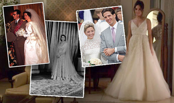 Meghan Markle wedding dress Prince Harrys girlfriend could be inspired by a former royal bride Photo C GETTY IMAGES