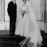 Meghan Markle wedding dress Princess Margaret wore British designer Normal Hartnell Photo C GETTY IMAGES