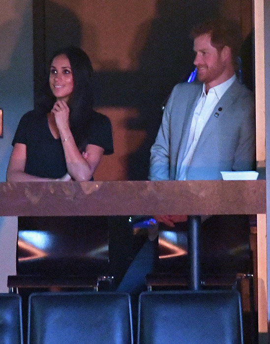 Meghan and Harry have been dating for over a year Photo (C) GETTY IMAGES
