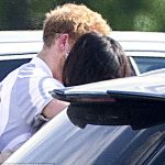 No royal boyfriend or girlfriend has spoken so openly about their relationship. Pictured The couple embrace after the polo at Cowarth Park in Berkshire on May 7 2017