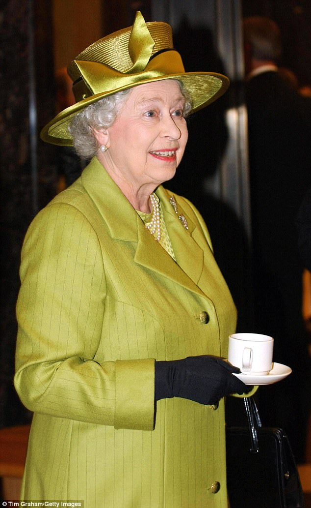 PRUE LEITH poured the Queen a weak black lemon tea when she wanted a strong black tea without any lemon