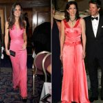 Pretty in pink Kate and Mary wore bold pink dresses in the naughties Photo C REX
