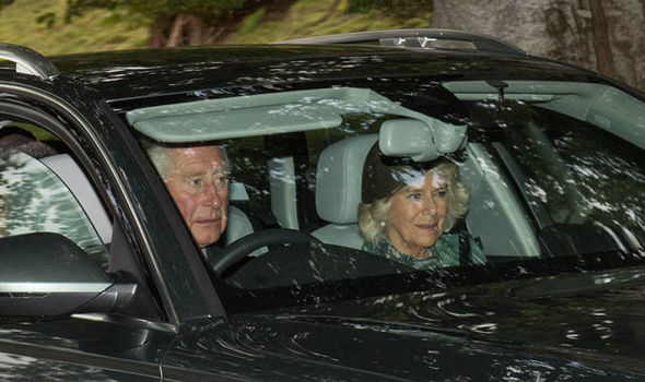 Prince Charles and Camilla are expected to stay a week longer at their Birchall home Photo (C) Abermedia Michal Wachucik