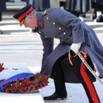 Prince Charles attends the annual Remembrance Sunday Service at the Cenotaph on Whitehall Photo C WIREIMAGE
