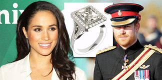Prince Harry and Meghan Markle This is the ring he will give Suits actress, experts agree Photo (C) GETTY