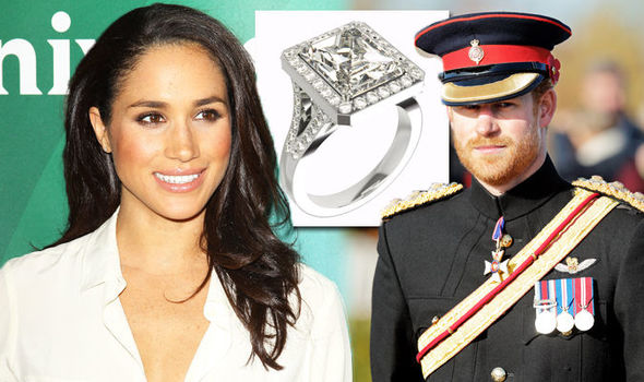 Prince Harry and Meghan Markle This is the ring he will give Suits actress experts agree Photo C GETTY