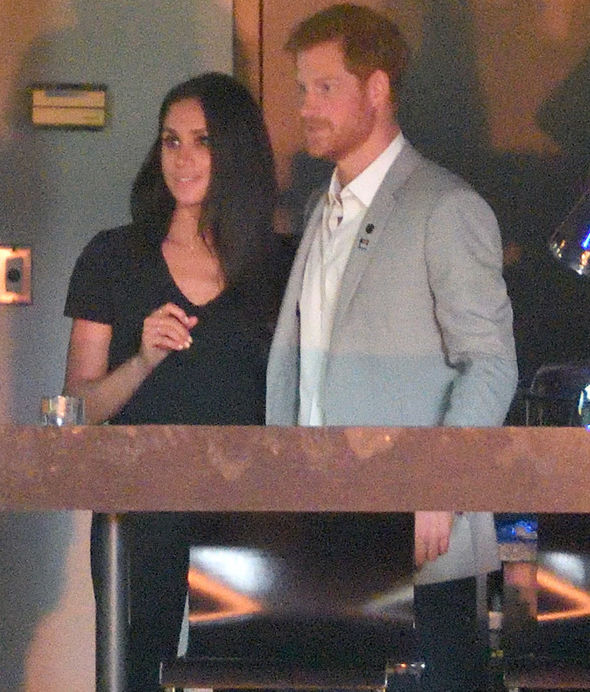 Prince Harry and Meghan Markle made their first public appearance in Toronto last month Photo (C) GETTY