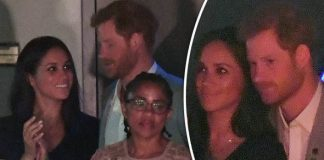 Prince Harry met with Meghan Markle's mum at the Invictus Games last night Photo (C) WIREIMAGES