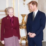 Prince Harry turned on the royal charm during his visit to Denmark Wednesday Photo C GETTY IMAGES