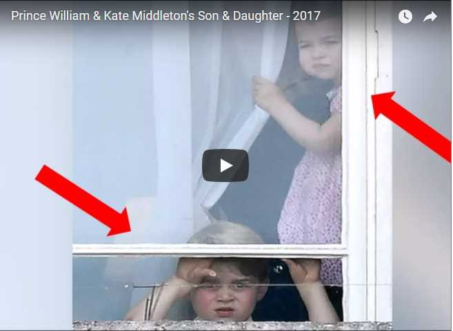 Prince William & Kate Middleton's Son & DauPrince William & Kate Middleton's Son & Daughter - 2017ghter - 2017