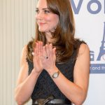Prince William gave Kate his mother's distinctive 18 carat blue sapphire and diamond engagement ring Photo C GETTY IMAGES