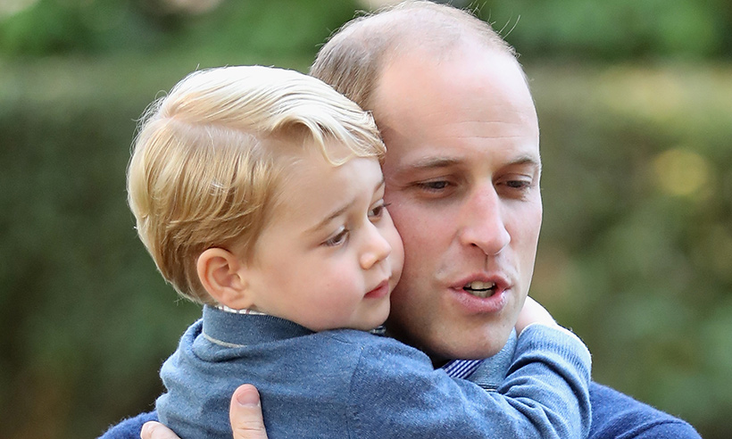 Prince William reveals life-saving lesson he's teaching Prince George Photo (C) GETTY
