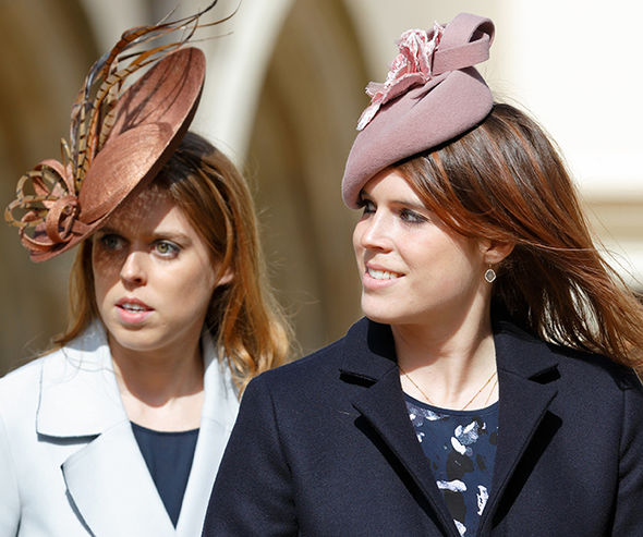Princess Beatrice and Eugenie could become godparents to the new royal baby Photo (C) GETTY
