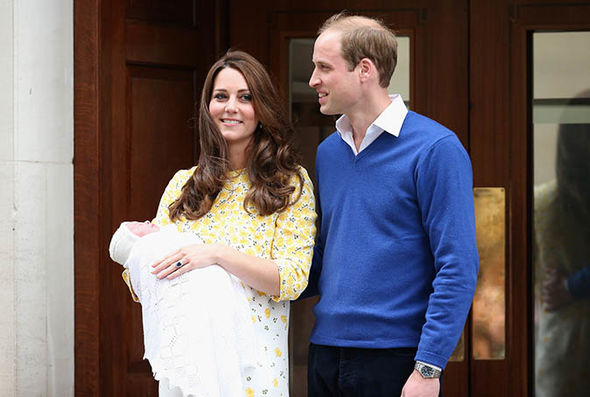Princess Charlotte was born on May 2, 2015, in St Mary's Hospital Photo (C) GETTY
