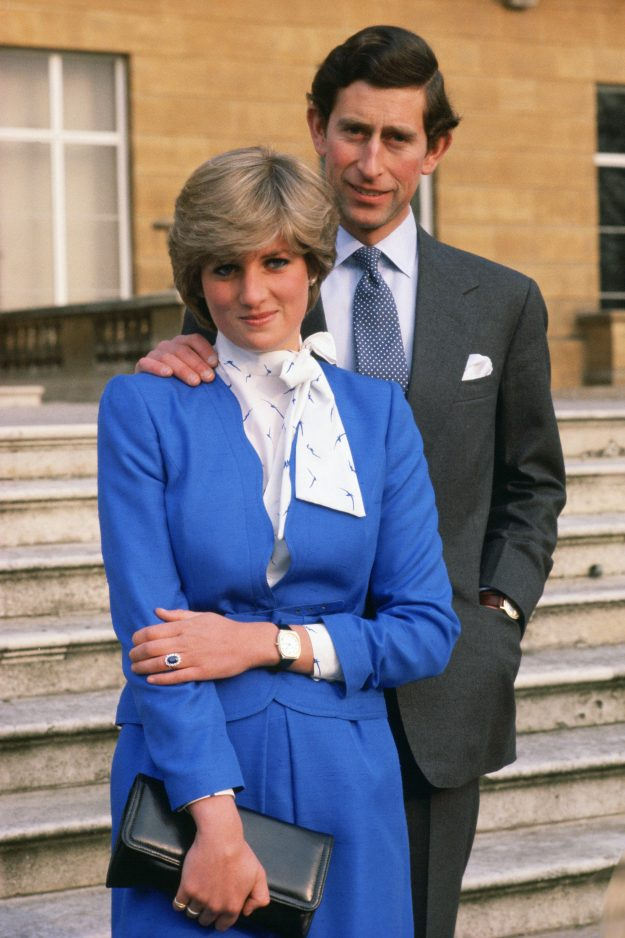 Princess Diana and Prince Charle's engagement picture [Getty ]