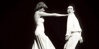 Princess Diana dancing with Wayne at the Royal Opera House in 1985