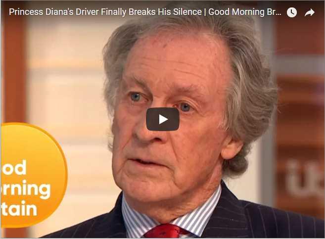 Princess Dianas Driver Finally Breaks His Silence