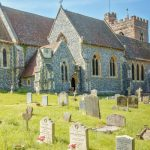 Residents were angered by the news the churchyard would be closed until a buyer was secured Photo C ALAMY