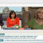She appeared on Good Morning Britain Image ITV