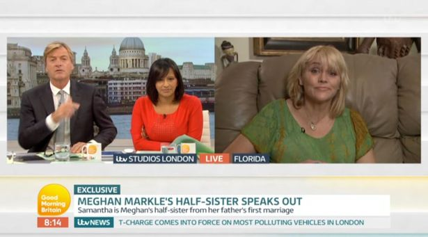 She appeared on Good Morning Britain (Image ITV)