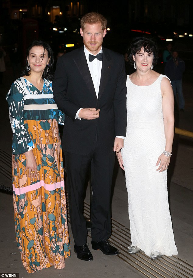 Sonia, an American hedge fund manager and the co-founder of Avenue Capital Group, wore a unique patterned dress while Amanda went for a classic white gown