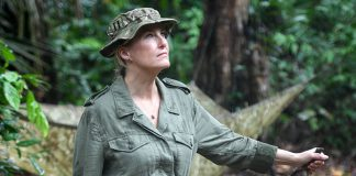 Sophie Wessex treks through Brunei jungle carrying a knife Photo (C) GETTY