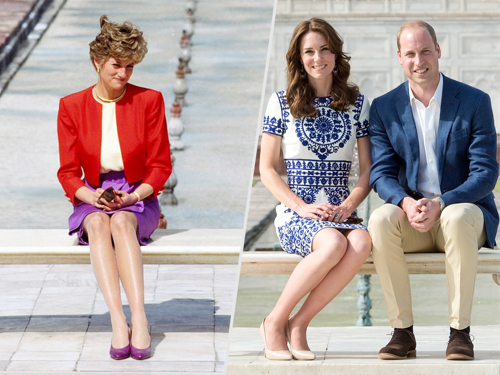 As for getting down stairs Meier says that Harry would likely be aware of helping Markle walk down any stairs in her path Photo C GETTY IMAGES