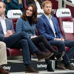 The Duchess and Prince Harry at the sporty engagement Photo C GETTY