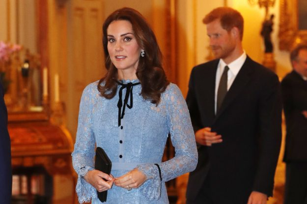 The Duchess of Cambridge changes her makeup [Getty]
