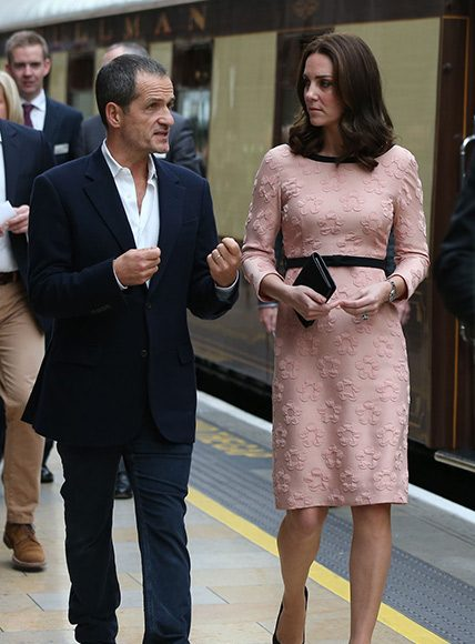 The Duchess of Cambridge is pretty in pink  Photo (C) GETTY