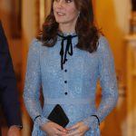 The Duchess of Cambridge went for a totally different look Getty