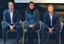 The Duke and Duchess of Cambridge were also joined by Prince Harry at the graduation