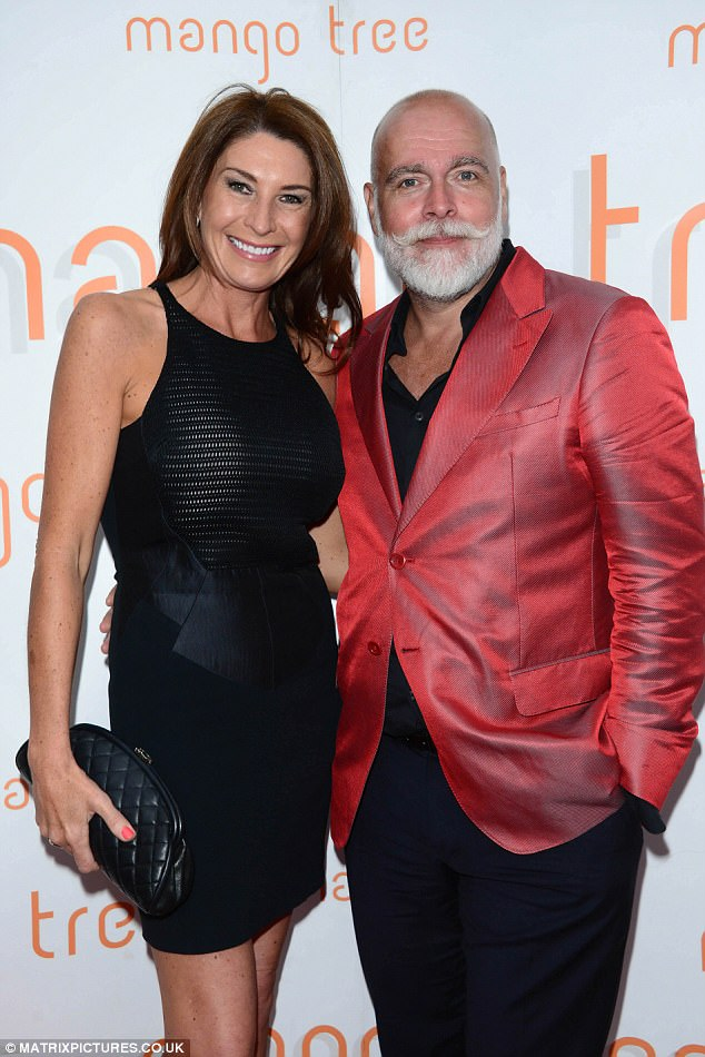 Julie Ann Goldsmith the fourth wife of Gary Goldsmith who was exposed boasting about c caine use and giving advice on how to meet Brazilian pr stitutes