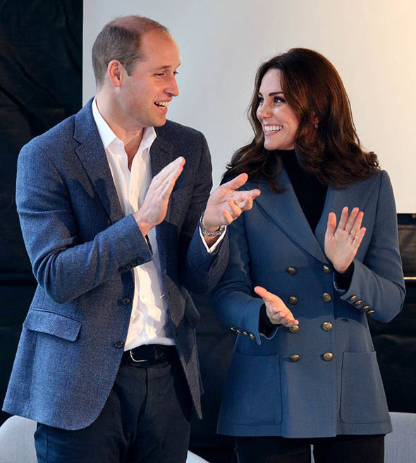 The Pregnant Duchess was spotted with Prince William at West Ham stadium Photo (C) GETTY