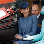 The Queen and Kate Middleton always travel with specific luggage tags Photo C GETTY
