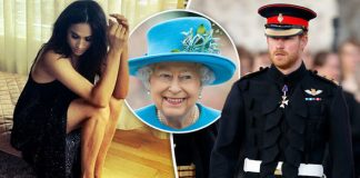 The Queen has given Meghan Markle her royal seal of approval is engagement to Prince Harry soon Photo C GE TT Y