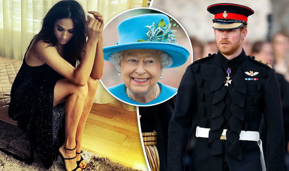 The Queen has given Meghan Markle her royal seal of approval - is engagement to Prince Harry soon Photo (C) GETTY