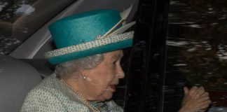 The Queen was spotted without Prince Philip Photo (C) Abermedia Michal Wachucik