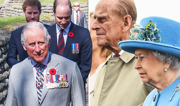 The Royal family's aides could collapse amid in-fighting, an insider warned Photo (C) GETTY