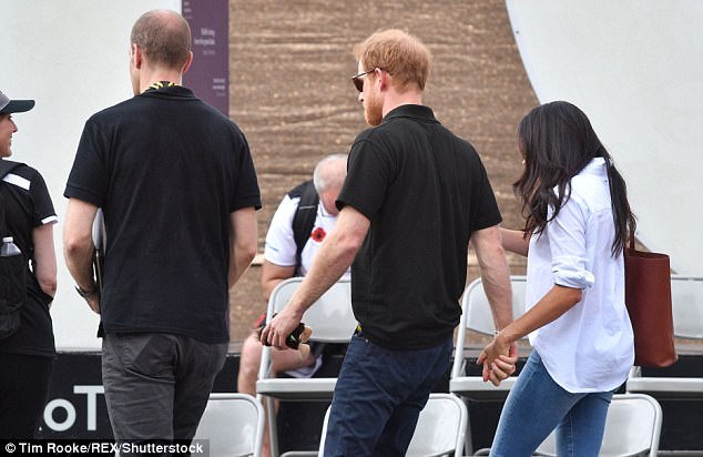 The couple pictured at the Invictus Games have certainly not followed the pattern of traditional royal romances