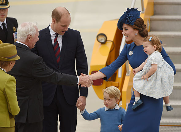 The family are expected to live in Kensington Palace when the new baby arrives Photo (C) GETTY