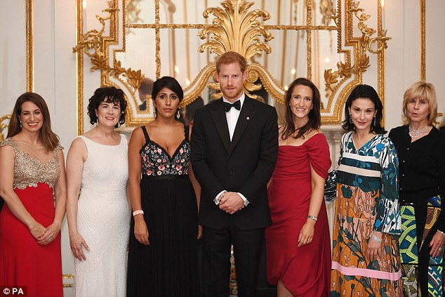 The prince was on hand to support the charity event, which raises money for Wellchild