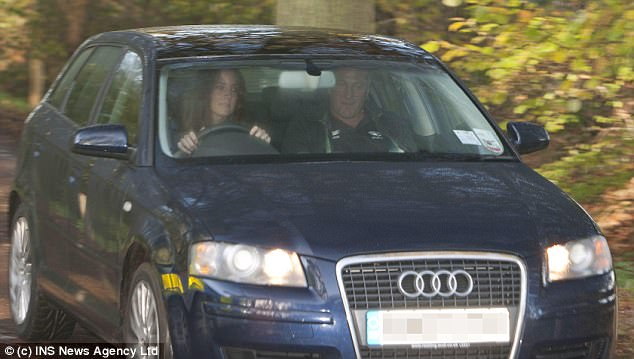 The then Kate Middleton leased an Audi under a special scheme available to the Royals