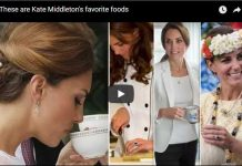 These are Kate Middleton's favorite foods
