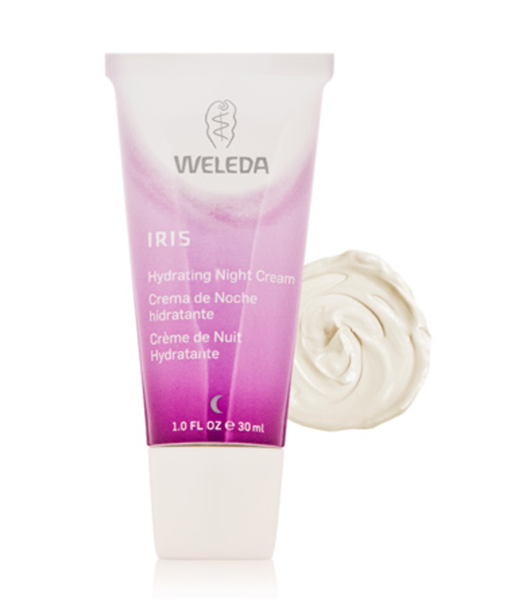 Weleda Iris Hydrating Night Cream, $22,Dermstore