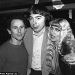 With Andrew Lloyd Webber and Lynsey de Paul