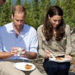 Prince William Kate Middleton Eating Food Photo (C) GETTY IMAGES