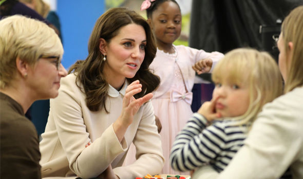 Kate Middleton revealed Princess Charlotte's favourite colour is pink Photo (C) GETTY