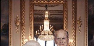 01 Queen Elizabeth II and her husband the Duke of Edinburgh at Windsor Castle. Picture Photo C GETTY
